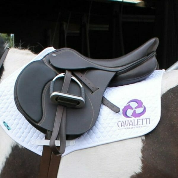 ilaria saddle service - cavaletti saddles - jump