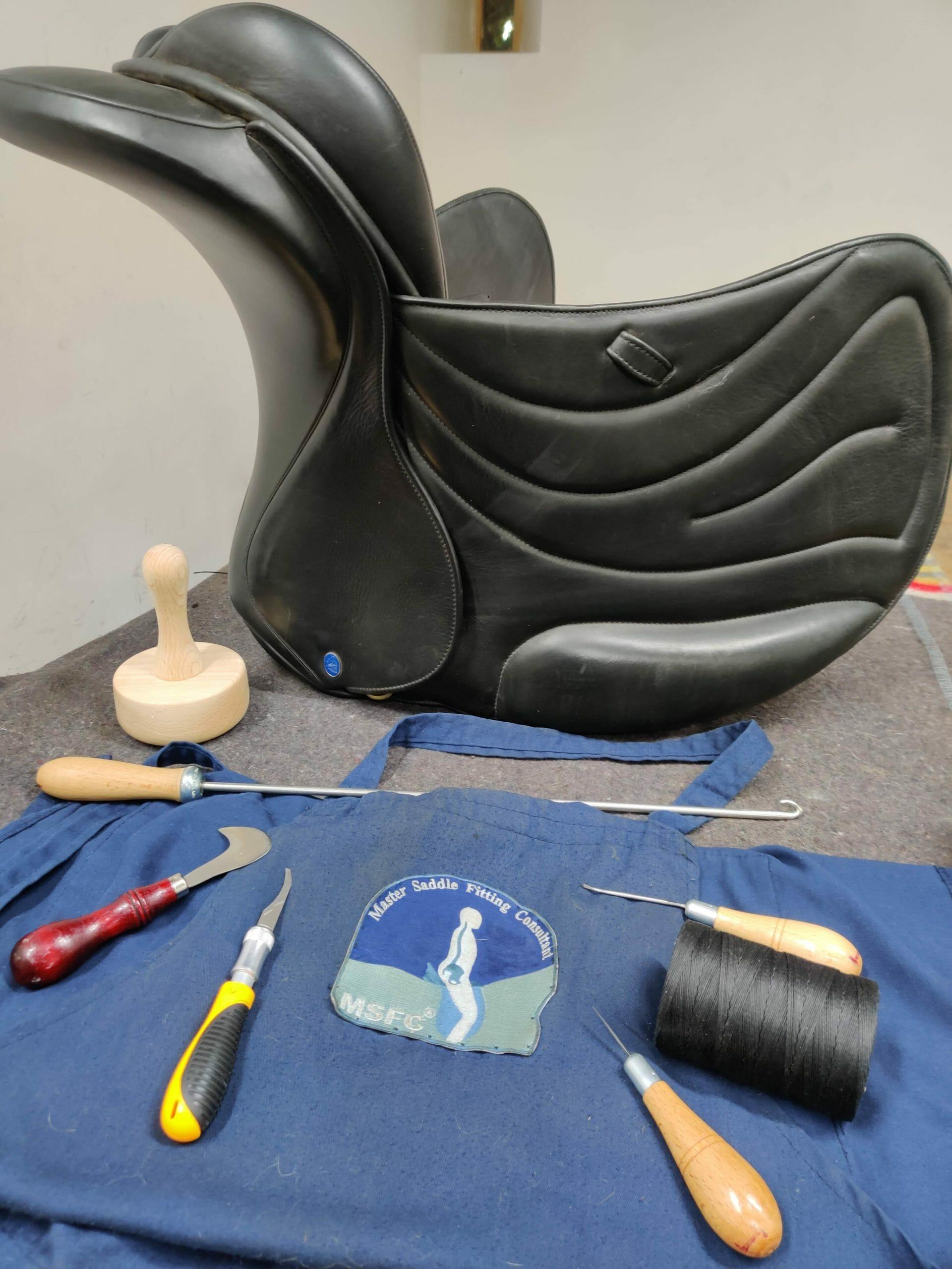 ilaria saddle service riparazione selle