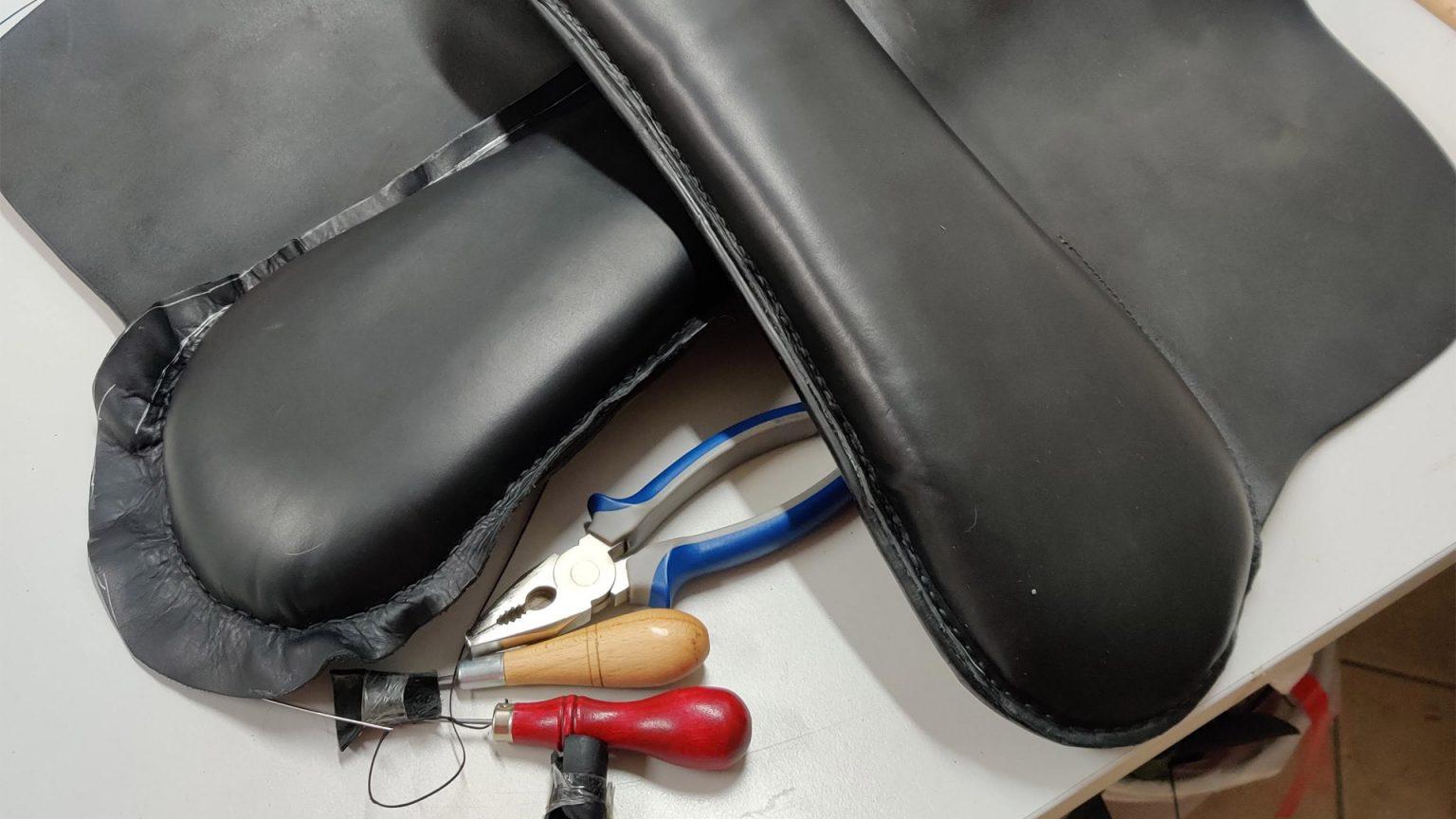 riparazione selle rifacimento cuscini