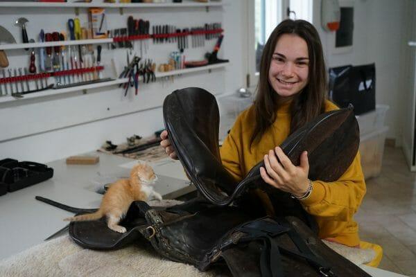 ilaria saddle service saddle fitting riparazione selle